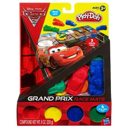 KIT MODELAGE Play Doh - Cars 2 3 Tapis De Course En Pâte-A-Mode