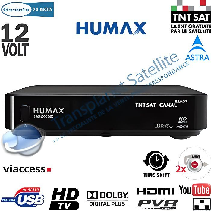 r cepteur satellite tntsat hd humax tn8000hd pvr r cepteur d codeur avis et prix pas cher. Black Bedroom Furniture Sets. Home Design Ideas
