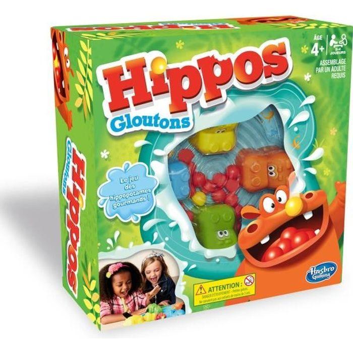 Hippos Gloutons Jeu De Societe Pour Enfants Jeu Rigolo De Rapidite Achat Vente Jeu Societe Plateau Cdiscount