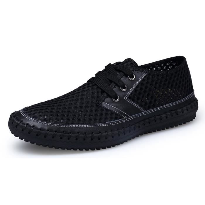 Mesh Water Shoes Outdoor Lightweight Quick Dry Walking Shoes LC4C4 Taille-44
