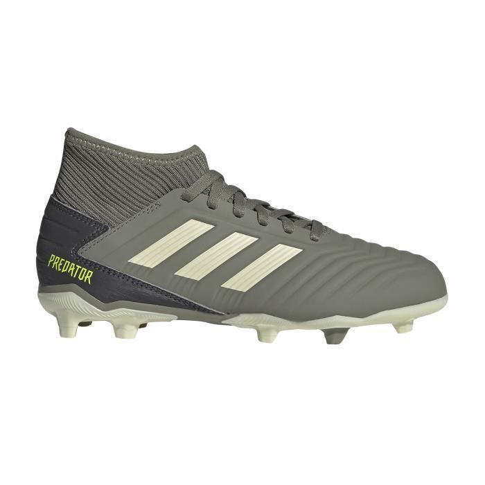 Chaussures Football Adidas Predator 19.3 Fg Vert Junior