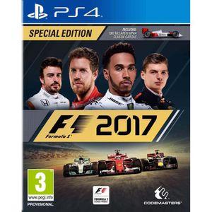 JEU PS4 F1 2017 Edition Spéciale Jeu PS4