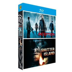 BLU-RAY FILM Blu-Ray Inception + Shutter Island