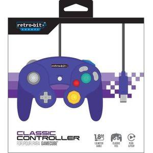 MANETTE JEUX VIDÉO Manette Retro-Bit pour Gamecube et Wii