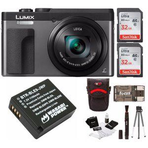 APPAREIL PHOTO COMPACT DC-ZS70K Lumix Appareil photo numérique avec 32 Go