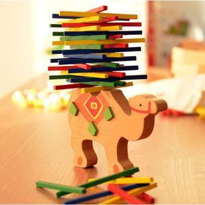 TABLE JOUET D'ACTIVITÉ Enfants Jouets éducatifs Camel Balance des bois Je