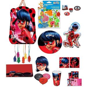 KIT DE DECORATION Mgs33 Kit Max XXL N° 2 Miraculous Lady Bug by Euro