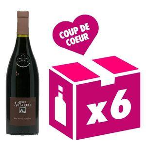 VIN ROUGE Saint Chinian les Terres Blanches vin rouge 6x75cl