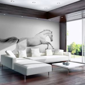 poster mural geant chevaux achat vente poster mural geant chevaux pas cher cdiscount. Black Bedroom Furniture Sets. Home Design Ideas