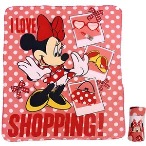 Disney Mickey Mouse Gris Imprim/é Couverture 120cm X 150 Cm