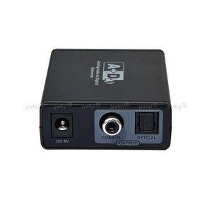 CÂBLE TV - VIDÉO - SON Adaptateur Convertisseur RCA Audio Coaxiale vers A