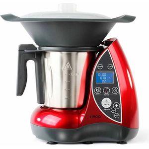 ROBOT DE CUISINE LIVOO  DOP142 Robot cuiseur avec cuiseur vapeur -
