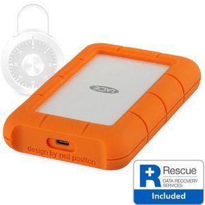 DISQUE DUR EXTERNE Disque dur externe Lacie 2To Rugged Secure USB-C