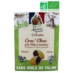 CÉRÉALES PETIT DEJ  LUCIEN GEORGELIN Céréales Croc' Choc bio - 375 g