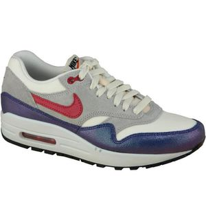 BASKET Wmns Nike Air Max 1 Vntg 555284-100 Femme Baskets