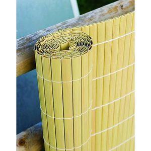BORDURE Canisse Haie Artificielle - Canne de Bambou 4m x 2