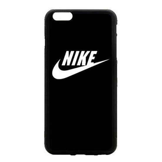 Coque iPhone 6 PLUS Nike Just Do it Logo Simple Noir et Blanc Etui Housse Bumper Protection Neuf sous Blister