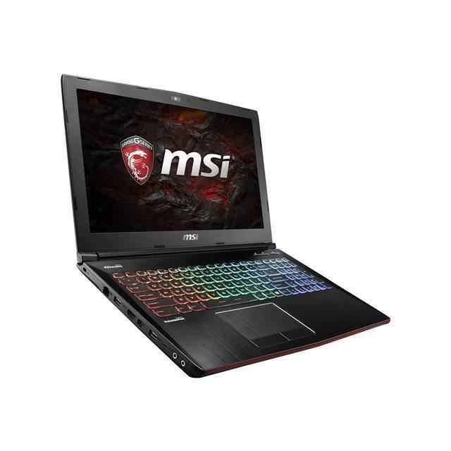 msi pc portable gamer ge62vr 7rf apache pro 481xfr 15 6. Black Bedroom Furniture Sets. Home Design Ideas