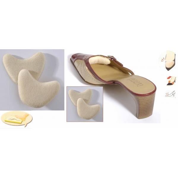 Paire protection super confort VITAEASY pour le dessus des chaussures - Polyester et mousse de polyuréthane