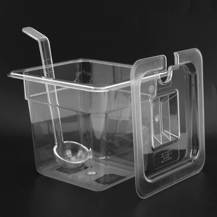 Échelle en acier inoxydable assaisonnement boîte étagère acrylique boîte à épices Jar Kit ustensiles de cuisine des ménages