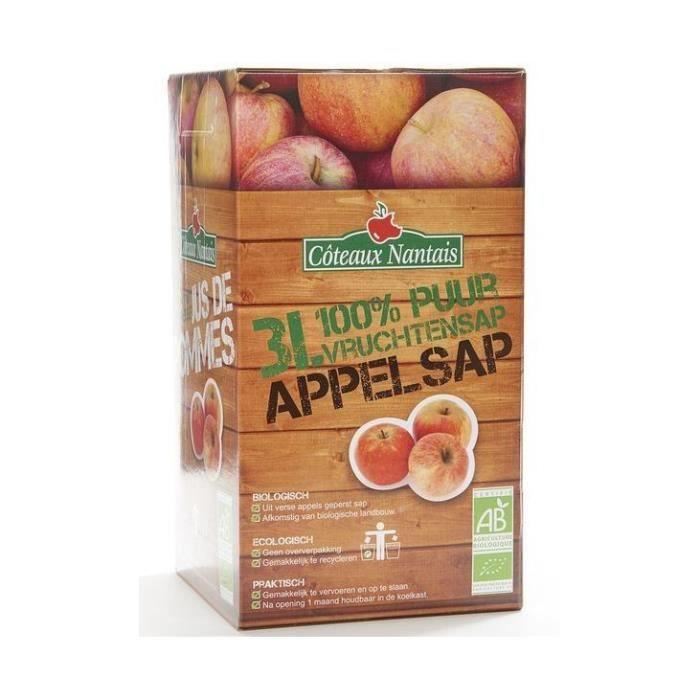 Jus de pommes ab bib 3l