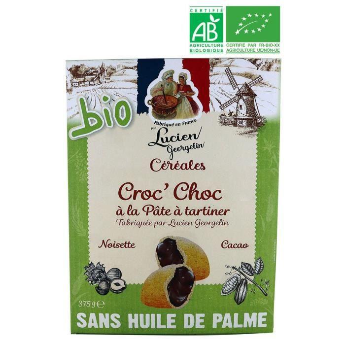 LUCIEN GEORGELIN Céréales Croc' Choc bio - 375 g