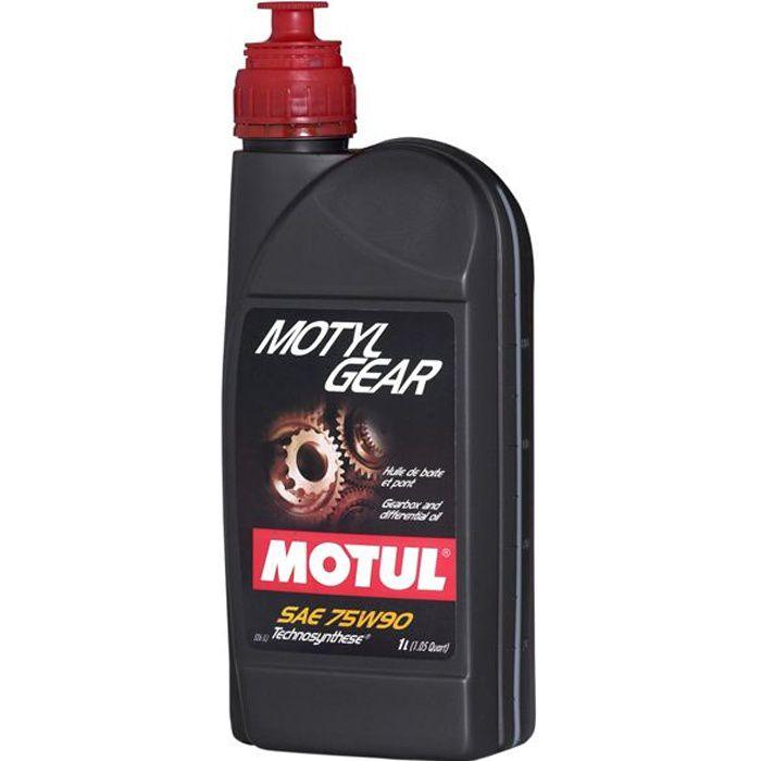HUILE BOITE DE VITESSE AUTO MOTUL MOTYL GEAR 75…