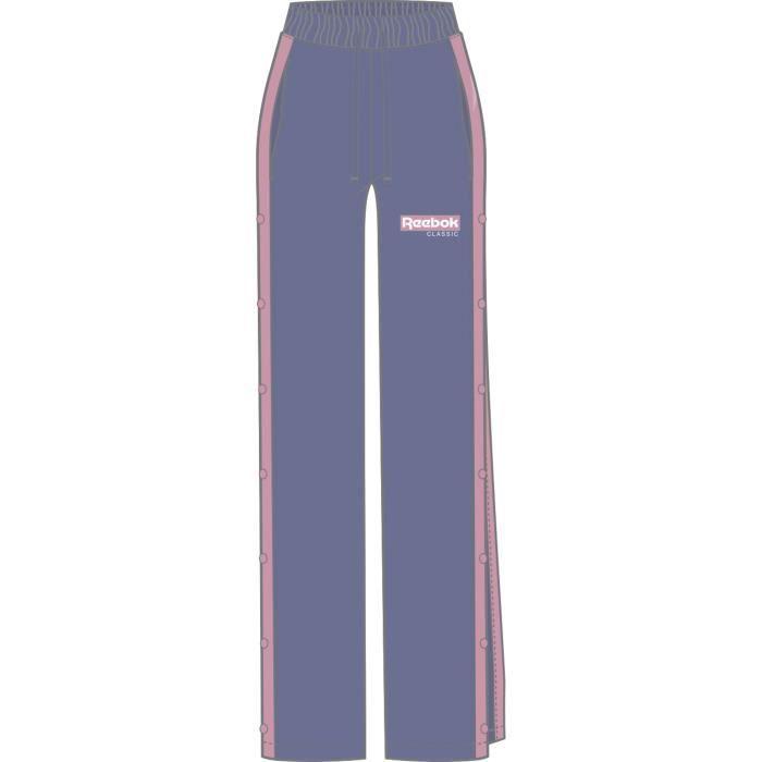 Pantalon femme Reebok à boutons-pression Classics R