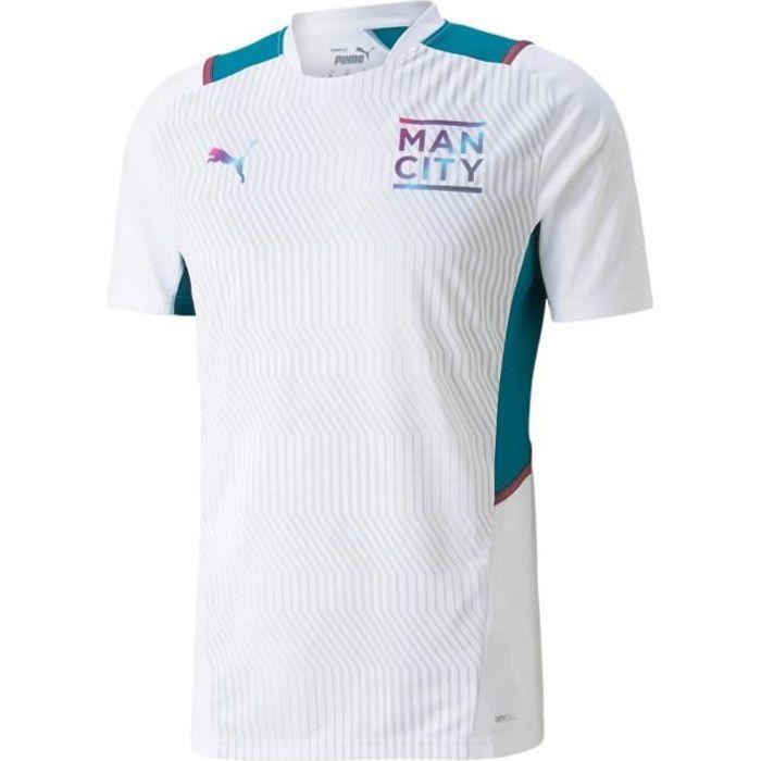 Maillot Manchester City Training 2021/22 - blanc/bleu clair - XS