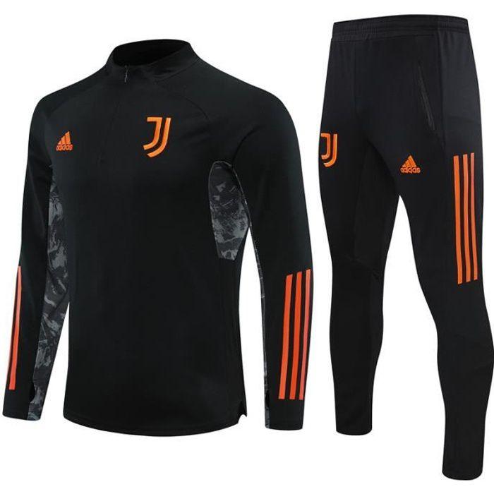 Survêtements Juventus 2021 Adidas Maillot Homme Enfants Maillot de Football Nouveau - Noir