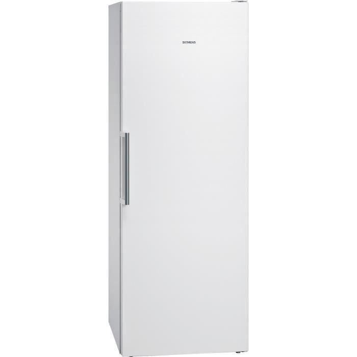 SIEMENS GS58NAWDV - Congélateur armoire - 360L - Froid ventilé - L 70 x H 191 cm