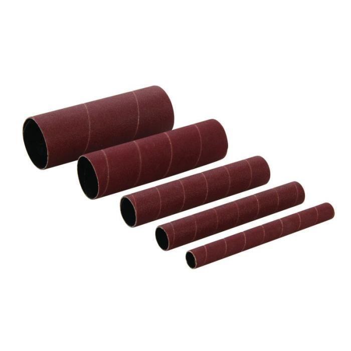 Manchons de ponçage en oxyde d'aluminium, 5 pcs TTSS150G5PK, Grain 150, 5 pcs