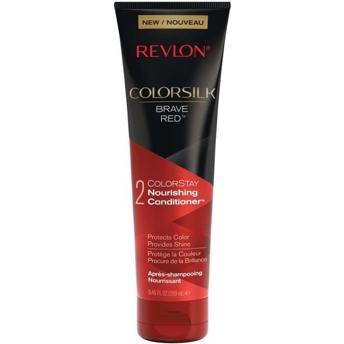 REVLON Après-shampoing nourrissant Colorsilk - Brave Red - 250 ml