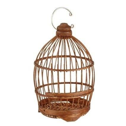 2 cages oiseaux decoratives bois bambou maison achat vente voli re cage oiseau 2 cages. Black Bedroom Furniture Sets. Home Design Ideas