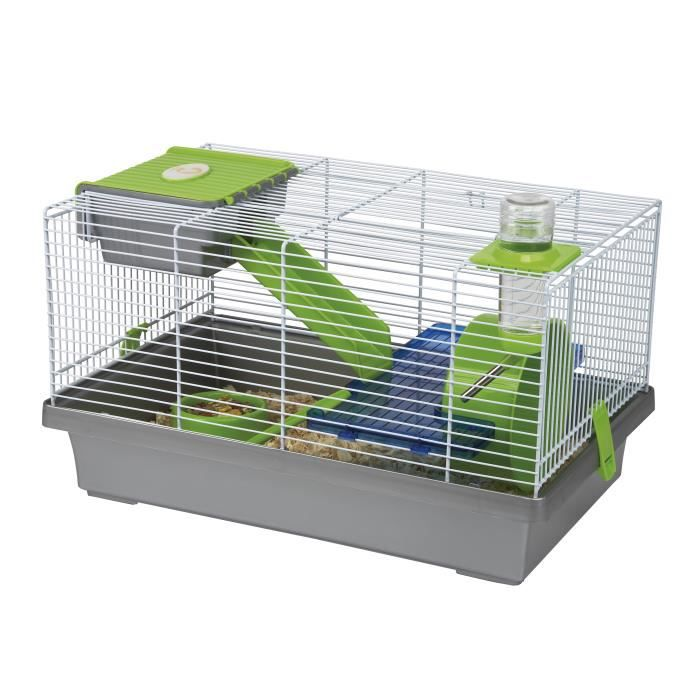 CAGE CAGE HAMSTER/SOURIS MICA GRIS