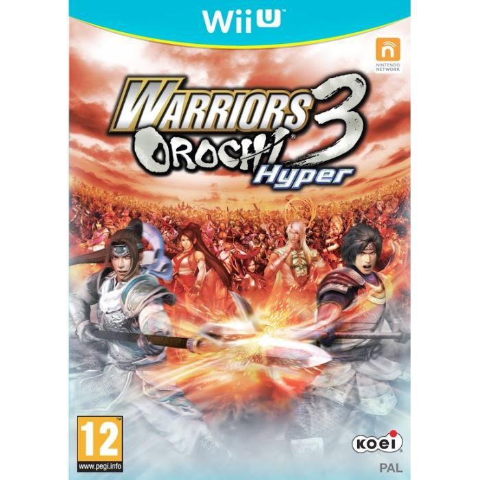 JEU NEW 3DS - 3DS XL JEU WII U WARRIORS OROCHI 3
