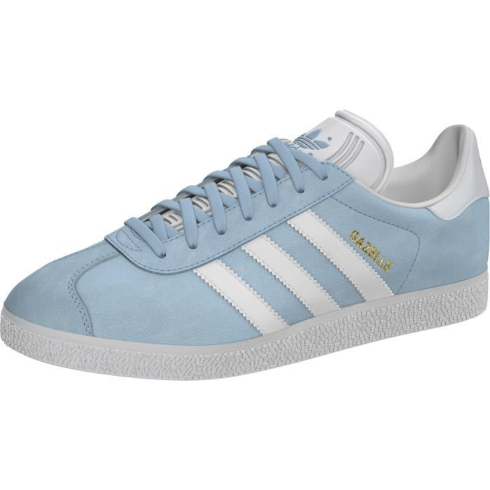 ADIDAS ORIGINALS Baskets Gazelle Chaussures Femme Bleu clair ...