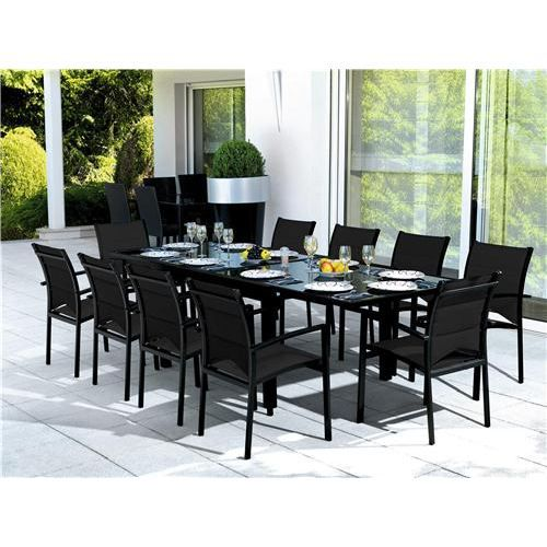 table et chaises de jardin ens modulo 10 blatt achat vente salon de jardin table et chaises. Black Bedroom Furniture Sets. Home Design Ideas