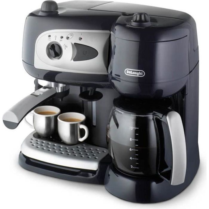 delonghi bco 260cd 1 combin expresso cafeti re blue. Black Bedroom Furniture Sets. Home Design Ideas