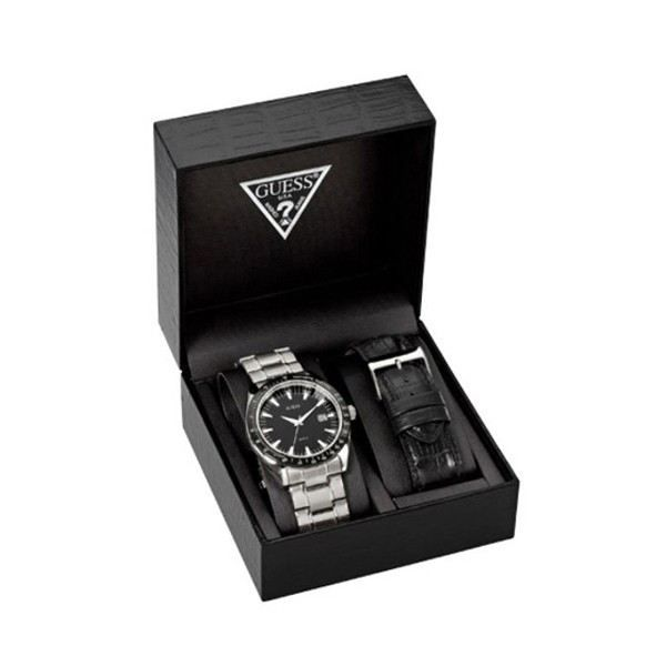 coffret montre homme guess chase achat vente montre. Black Bedroom Furniture Sets. Home Design Ideas