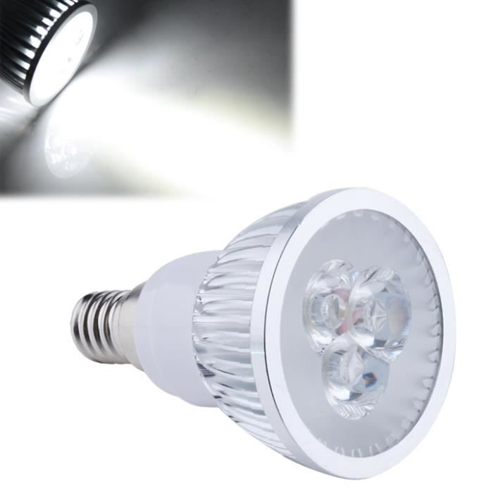 lampe 9w e14 led spot lamp bulb froid blanc 85 265v achat vente lampe 9w e14 led spot lamp. Black Bedroom Furniture Sets. Home Design Ideas