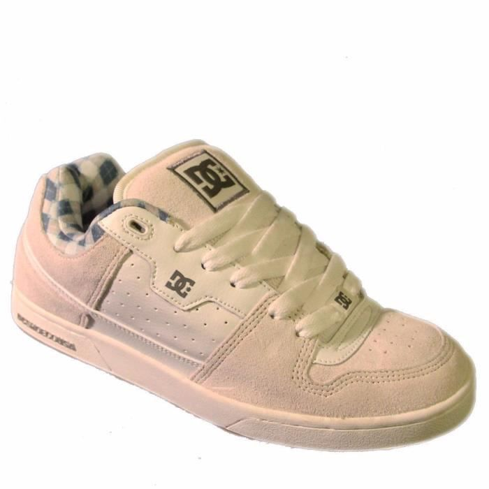 Baskets Homme Rare 2007 Vintage collector skateshoes DC SHOES BAILIFF White US9 42EU Sample Last worldwide ! Dernière au monde ! 2mczlpoB