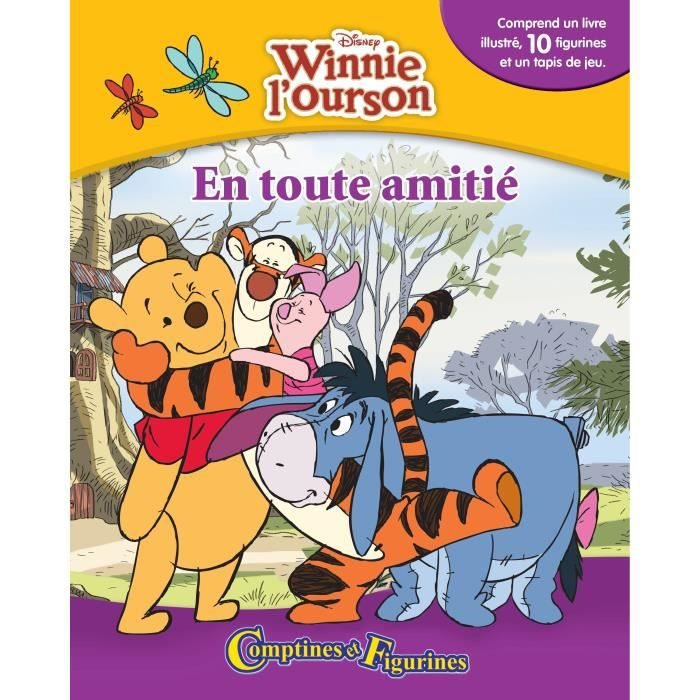 Disney Winnie L Ourson Comptines Et Figurines