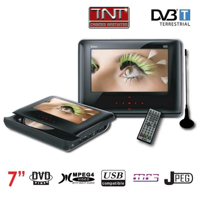 tokai ldp 248 lecteur dvd portable tnt 7 achat vente lecteur dvd portable tokai ldp 248. Black Bedroom Furniture Sets. Home Design Ideas