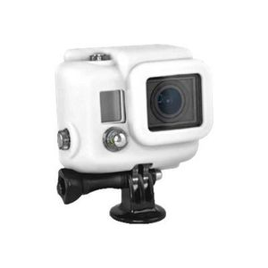 Xsories Silicone Cover Hero 3+ - Protection/ Personnalisation GoPro - housse compatible Hero 3+ /4 WHITE