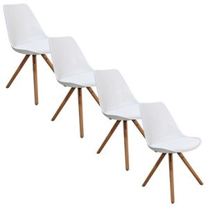 lots de 4 chaises scandinaves achat vente lots de 4 chaises scandinaves pas cher cdiscount. Black Bedroom Furniture Sets. Home Design Ideas