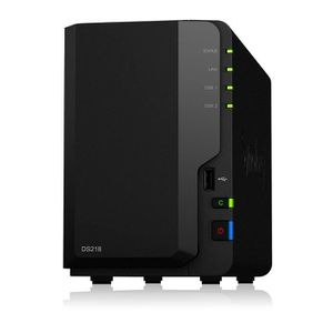 SERVEUR STOCKAGE - NAS  Synology ds218 NAS 2 baies, 1.3 GHz DualCore CPU