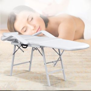 Table de massage Table de Massage Pliante 3 Zones Lit de Massage Co
