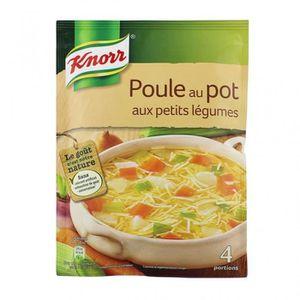 SOUPE Knorr Poule au Pot aux Petits Légumes 72g (lot de