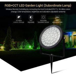 Lot de 5 Jardin Extérieur Spike Lumière Longue Vie Spotlight Arbre Lampadaire Lampe DEL
